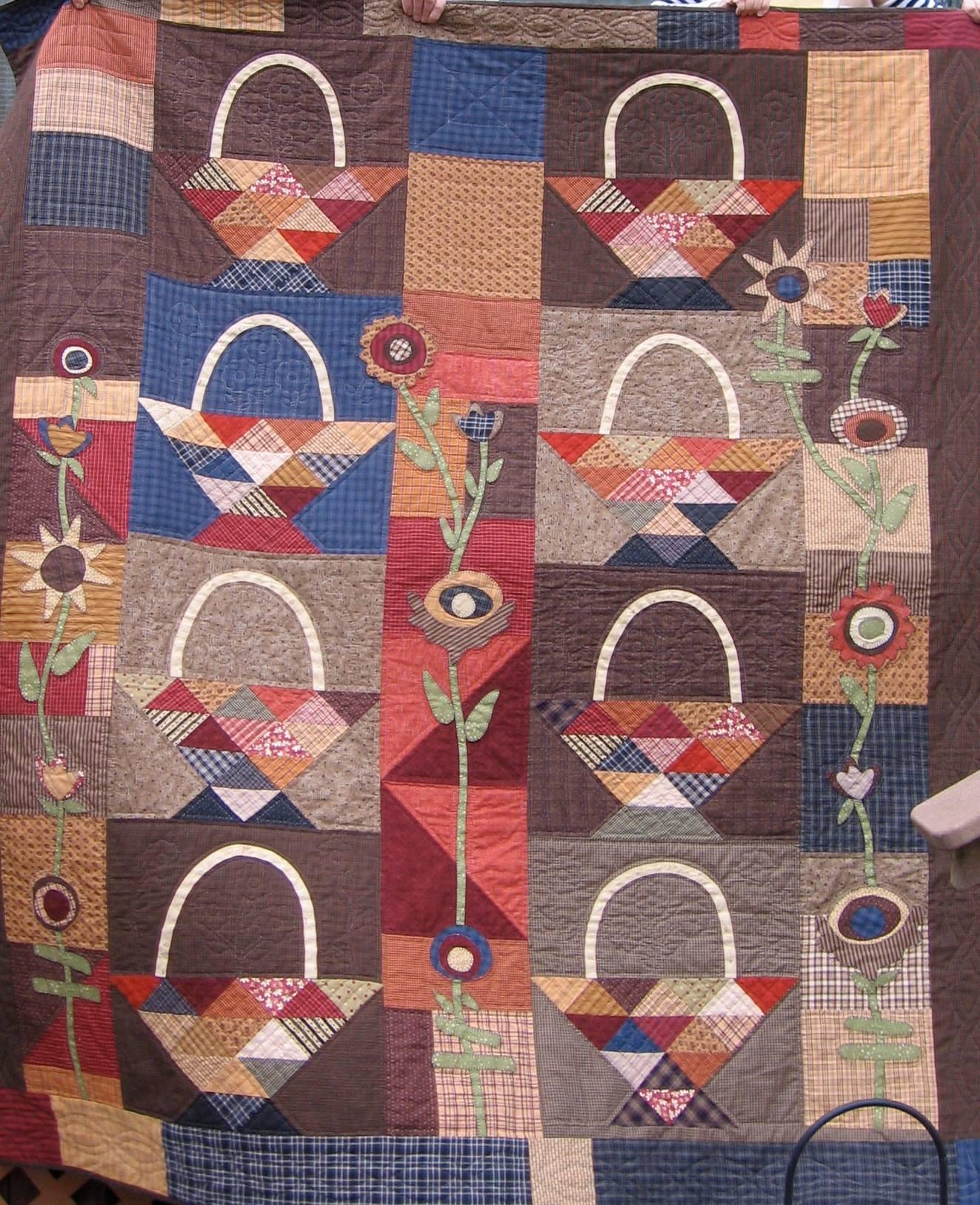 A Tisket A Tasket Quilt