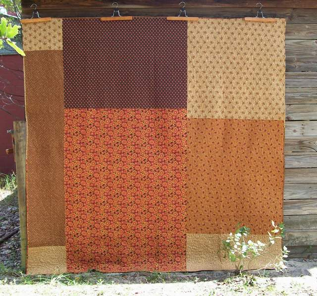 back of quilt #4, LOVE
