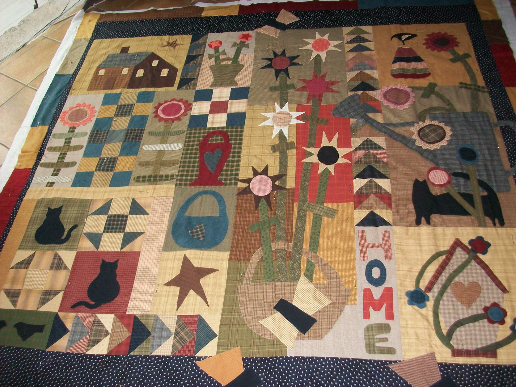 A Little Porch Time Quilt by