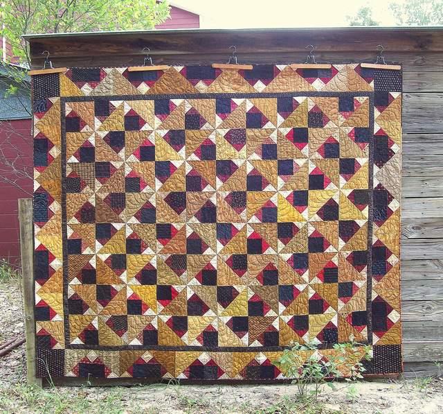 Quilt #1 2012-13 block party