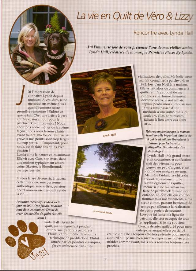 quilt country - magazine article pg 1