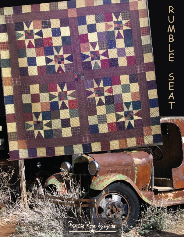 PPL080 - Rumble Seat-rumble seat, pieced quilt