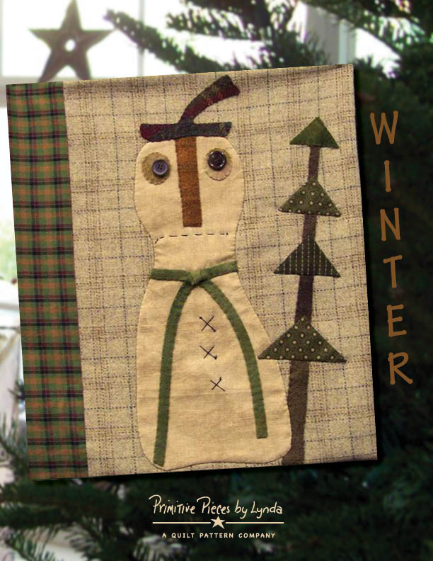 Winter-pattern, pillow case, wool, fabric