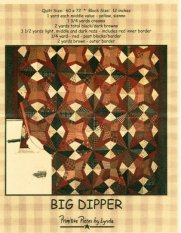 PPL004 Big Dipper-pieced quilt