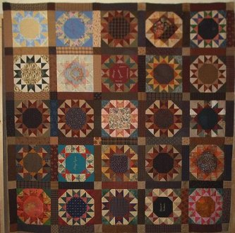 breast cancer quilt #3, 2005