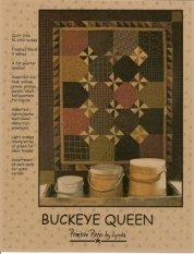 PPL055 Buckeye Queen-pieced quilt