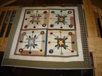 Carole Edwards has done it again! Wow, what a great job on your Bundling Board quilt. Thanks Carole for sharing!