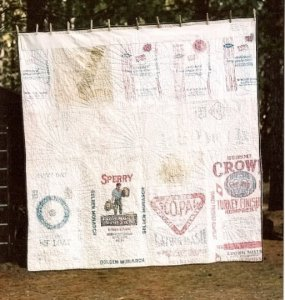 cheryle hartes back of fanshawe dam quilt