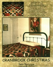 PPL006 Cranbrook Christmas - E-pattern only!