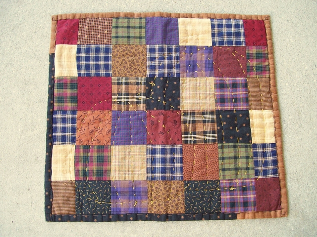 QS 12 Fall Pumpkin Mat-pantry, quilts for sale
