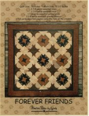 PPL013 Forever Friends-pieced quilt
