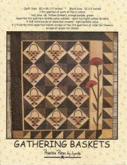 PPL060 Gathering Baskets-pieced, applique, quilt