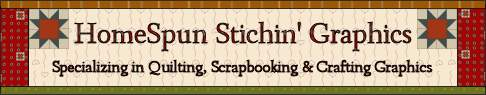 Homespun Stitching Graphics