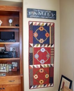 """Jeanette from Calgary sent me this picture of her """"She Loves Me, She Loves me Knot!"""" I love that it fits that space so well....just perfect Jeanette! Thanks for sharing a picture with everyone."""