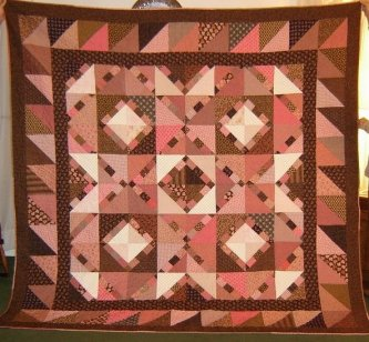 Pinny would be proud Jeanne! I love pinks and browns together. You captured it just right!-parlor, jeanne arnieri's pinny 'n pa