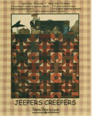 PPL021 Jeepers Creepers-pieced quilt