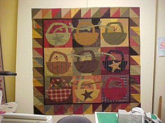 Karen sent in this picture of her version of Slim Pickins. What a wonderful job and the first one I've seen finished. Yeah! Thanks Karen
