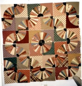 Lynn Eriquez from Low Country Quilting made this Fanshawe Dam. How Fun!