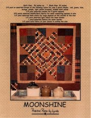 PPL034 Moonshine-pieced quilt