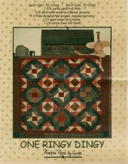 PPL019 One Ringy Dingy-pieced quilt