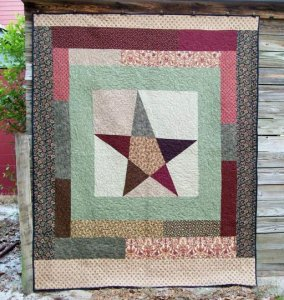pieces of our hearts back, cancer quilt 2009
