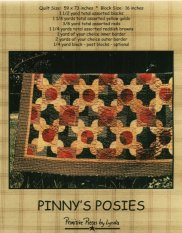 PPL002 - Pinny's Posies-Pieced quilt