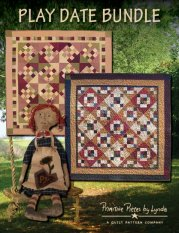 PPL078 Play Date Bundle-small pieced quilts, doll pattern