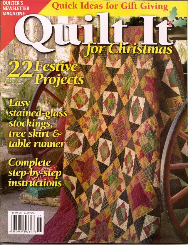 quilt it for christmas - cranbrook christmas