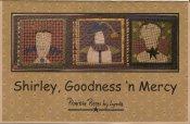 PPL053 Shirley Goodness  n  Mercy-pieced, appliqued wall hanging