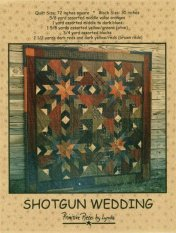 PPL033 Shotgun Wedding-pieced quilt