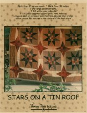 PPL011 Stars on a Tin Roof-pieced quilt