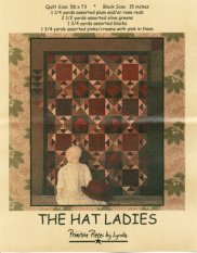 PPL023 The Hat Ladies-pieced quilt