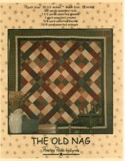 PPL022 The Old Nag-pieced quilt