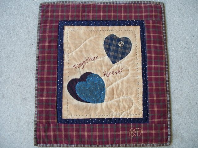 QS 11  Together Forever-pantry, quilts for sale