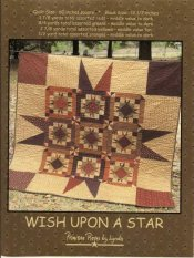 PPL061 Wish Upon a Star-pieced, quilt
